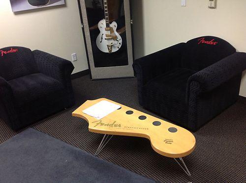 Интерьер Fender