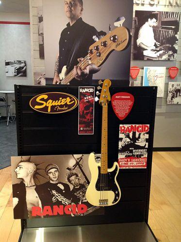 Squier (бюджетное отделение Fender)