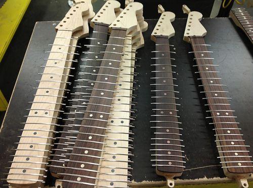 Fender установка ладов